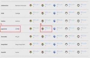 各国語版の Firefox をダウンロード