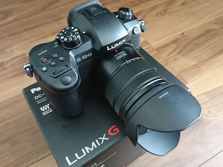 LUMIX DC-GH5本体