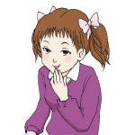 アニメ風女の子イラスト