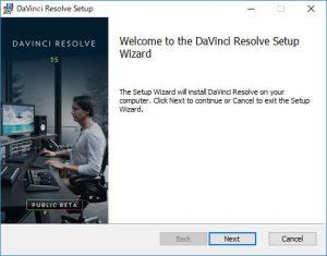 DaVinci Resolveのインストールを進めていきます。