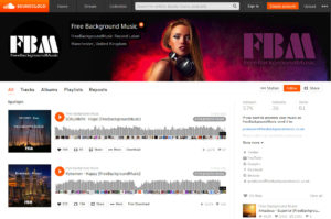 Free Background Musicサイトイメージ