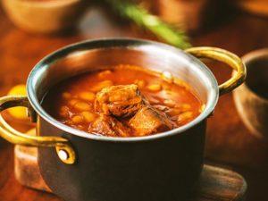 暖色の料理