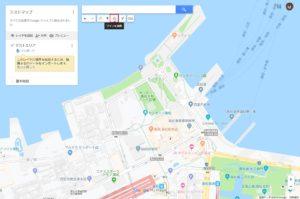 地図作成画面からライン描画
